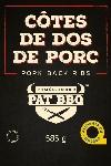 Côtes de dos de porc 585 g