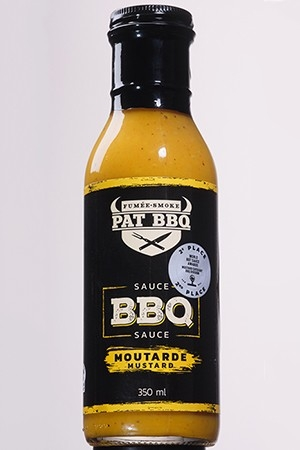 Sauce BBQ Moutarde350 ml
