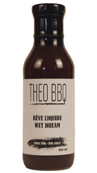 THEO BBQ - Sauce BBQ Rêve Liquide 350 ml