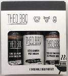Boîte Cadeau - THEO BBQ - 2 X Épices 175g et une Sauce 350 ml